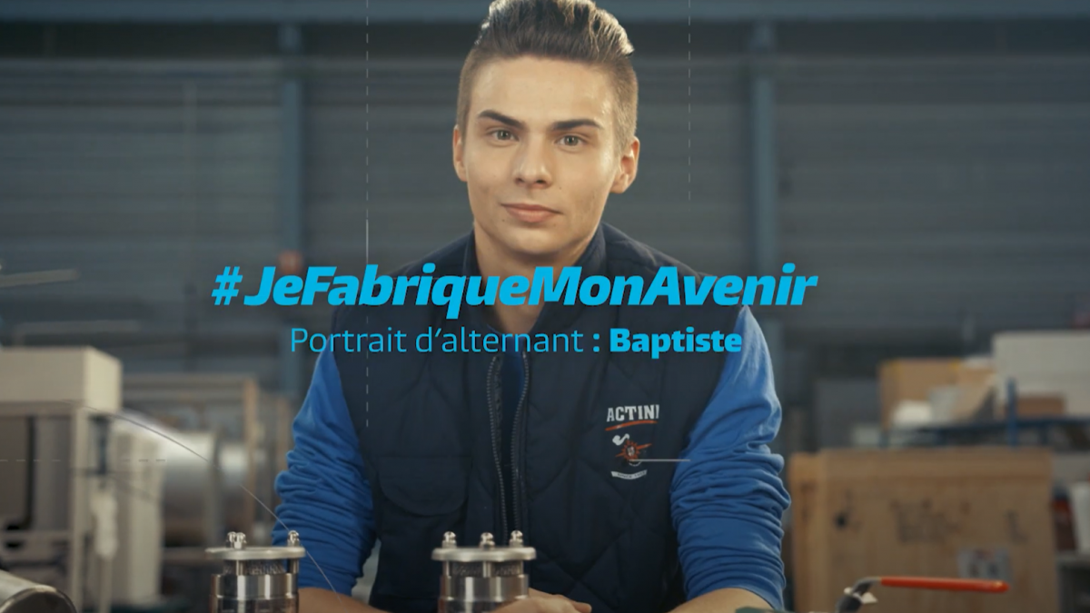Baptiste, Alternant en Maintenance
